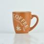 Caneca Coffe Time Caramelo em Cerâmica YM-46 A