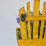 Enfeite de Madeira Motivo Cadeiras LJ-93