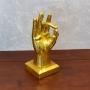 Enfeite Mão Gold YI-72