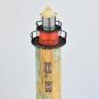 Farol Redondo Marrom com LED YM-94