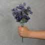 Flor Artificial Roxo em Plástico WZ-56 B