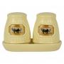 Kit Sal e Pimenta Little Sheep em cerâmica YG-57