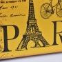 Maleta Vintage Paris Pequena em Madeira e Canvas SV-50 C
