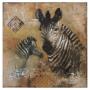 Pintura em Tela Zebra YA-60