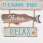 Placa Baleia Relax YP-37
