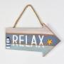 Placa Decorativa Seta Relax YP-22