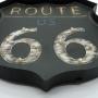 Placa Retrô com LED Emblema Estrada MT-07