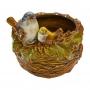Pote Pássaros em Cerâmica YJ-20