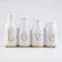 Vaso Branco Love YO-29