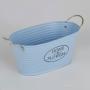 Vaso Oval Azul YH-69 A