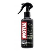 Motul M1 Helmet & Visor Clean Limpeza De Capacete E Viseira