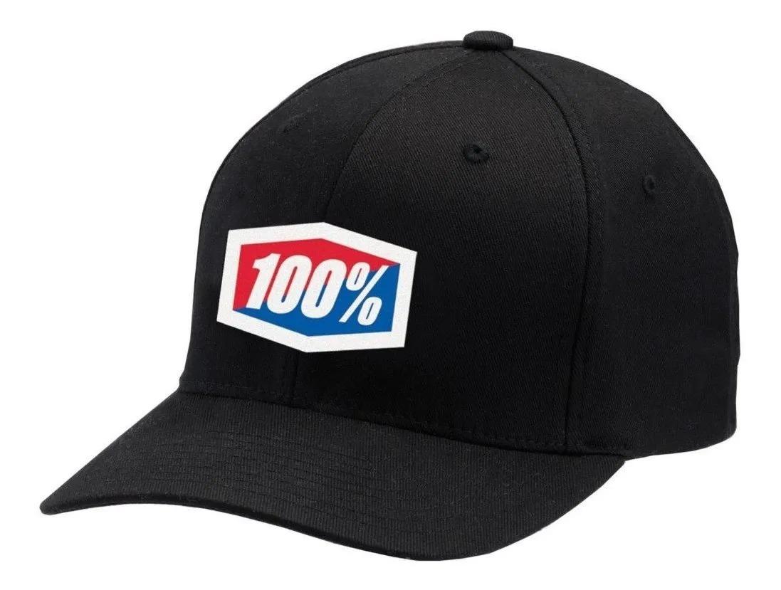 BONE 100% ICON FLEX PRETO PRETO