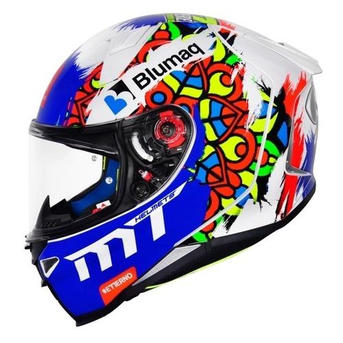 Capacete Mt Revenge 2 Moto3 Branco