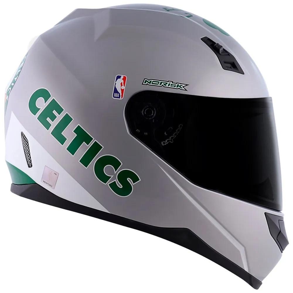 Capacete Norisk FF391NBA Boston Celtics Silver