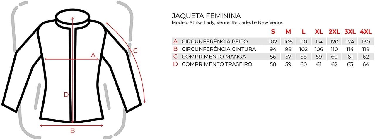 JAQUETA TEXX NEW STRIKE V2 LD FEMININA