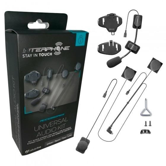 Kit Audio Interphone  Tour / Sport / Link / Urban