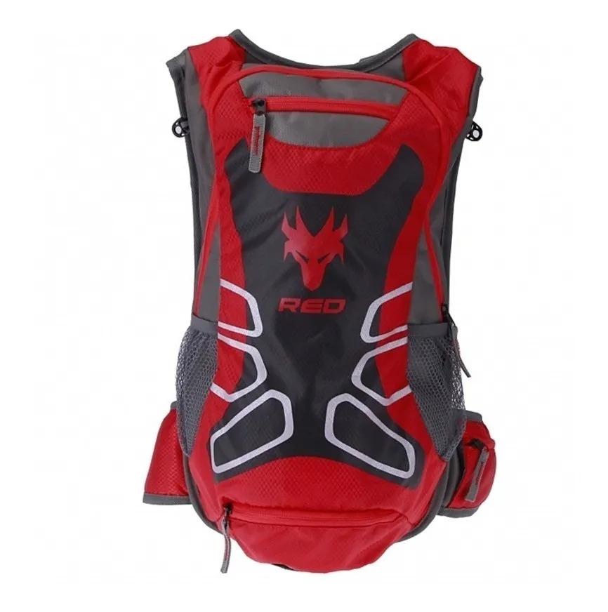 Mochila De Hidratação Cargo 2,5 Lt Red Dragon