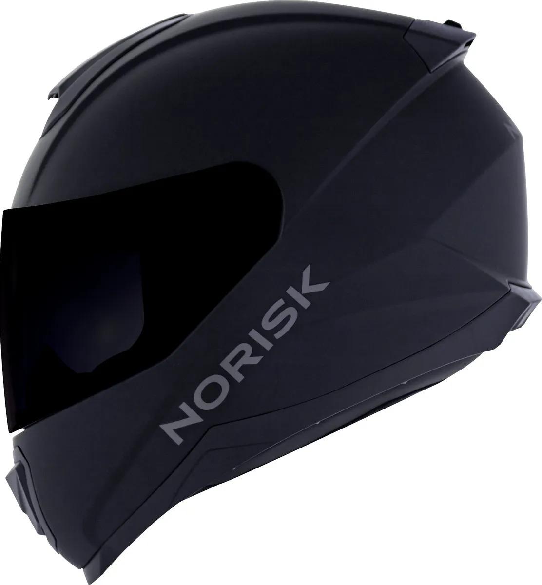 NORISK CAPACETE RAZOR MONOCOLOR MATTE BLACK