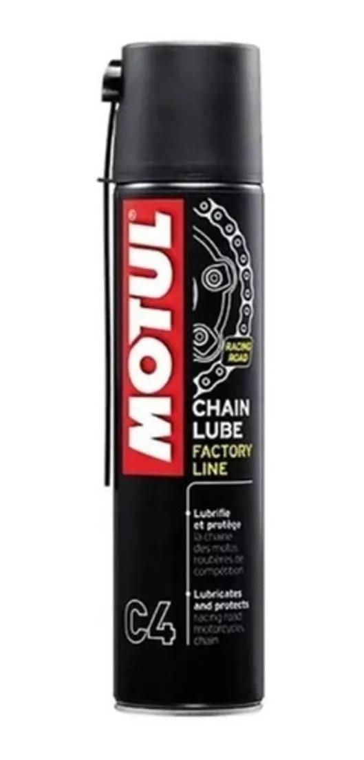Oleo Lubrificante De Corrente C4 Chain Lube 400ml
