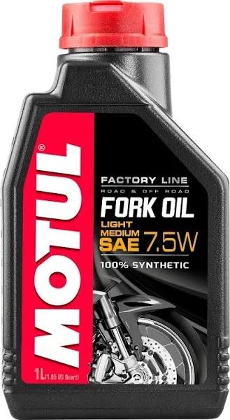 ÓLEO MOTUL FORK OIL FACTORY LIG/MED 7,5W