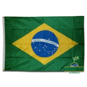Bandeira do Brasil (BORDADA)