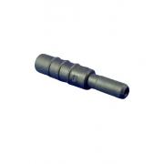 Adaptador de Eletrodo, 2mm jack (eletr.) para 1.5mm plugue (equip.) - preto - Cód: BIO.301201