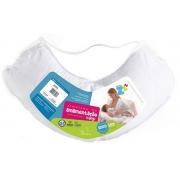 Almofada de Amamentação Basic Branca (31x86x38cm) - Fibrasca - Cód: Z4107