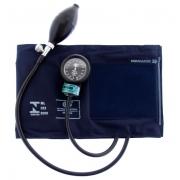 Aparelho de Pressão Adulto G - Nylon com Fecho de Contato - Azul - BIC - Cód: AP1027