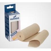 Atadura Elástica - Média Compressão 10cm x 1,30m (Cor Pele) - FAMARA - Cód: 21510
