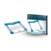 Balança Digital Ultra Slim de vidro Colors Line 180 Kg mod. W 912 Azul - WISO - Cód: 96394