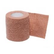 Bandagem Auto Adesiva Cohere 7,5cm X 5m - Bege (24 Uni) - COHERE - Cód: CH-30024TN