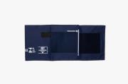 Braçadeira Adulto G Nylon com Fecho de Contato Azul Sem Manguito - BIC - Cód: BR1007Q