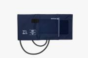 Braçadeira Adulto G Nylon Velcro Azul Com Manguito - BIC - Cód: BR3407Q