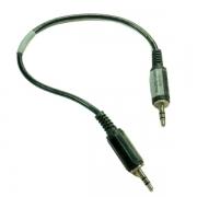 Cabo de Conexão de Áudio P2-P2 - Cód: 580-18SSM1
