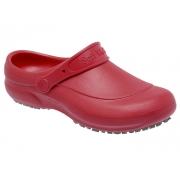 Calçado Soft Work- Vermelho - Cód: BB60-Vm