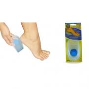 Calcanheira Siligel para Esporão com Ponto Azul - Ortho Pauher - Cód: OP 1002