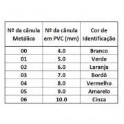 Cânula para Traqueostomia com Balão, de PVC - Pediátrica (03 Unidades) - BCI Medical - Cód: 9766