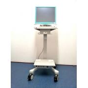 Carrinho com Computador Panel PC Touch Screen 17