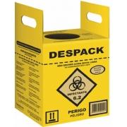 Coletor De Resíduos Perfuro-Cortantes - Despack - 7 Litros (Unitário) - Sanfarma - Cód: SA9800_estq
