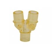 Conector Y 22mm para Circuito Paciente para Proximal (Peça) - GLOBAL TEC - Cód: CR05