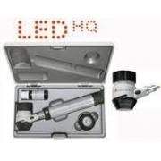 Conjunto de Dermatoscópio Delta 20 T - Cabo pilhas BETA (2,5V) em Estojo Rígido - HEINE - Cód: K-262.10.118