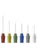 Eletrodo de Agulha Monopolar Descartável - Teflonada (Sem Cabo) - 37x0,36mm (28G) - 25 Unidades - Bio Protech - Cód: BM3