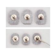 Eletrodo Sup. Conexão de Botão - DENIS02025, 20x25mm (diâm.X.comp.) (Pct. 20 uni.) - Spesmedica - Cód: DENIS02025
