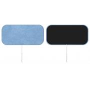 Eletrodo Valutrode  5,0 cm x 10,0 cm Retangular (20 Pacotes) - Cód: VL4595