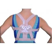 Espaldeira para Postura Regulável - Tam G - ORTOCENTER - Cód: OC 0078-03