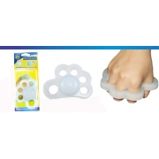 Fisiohand Siligel para Fisioterapia (Direito) - Ortho Pauher - Cód: OP 4020-D