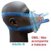 Fixador Cefalico de Silicone - Adulto G - Impacto Medical - Cód: IMP33205