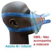 Fixador Cefalico de Silicone - Adulto M / Infantil - Impacto Medical - Cód: IMP32206