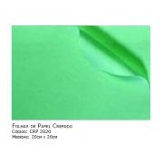 Folhas de Papel Crepado - Medidas (20cm x 20cm) - 1000 unidades - SISPACK - Cód: CRP 2020