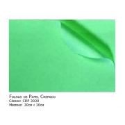 Folhas de Papel Crepado - Medidas (30cm x 30cm) - 1000 unidades - SISPACK - Cód: CRP 3030